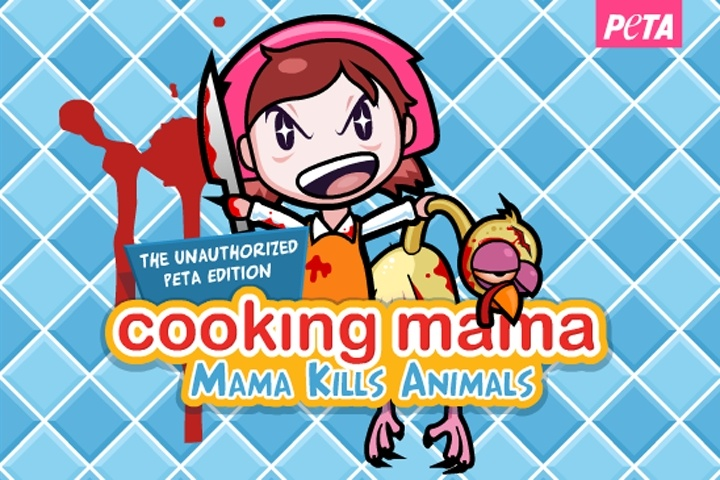 mama cooking games kills animals