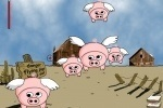 If Pig's Can Fly Then Pigs Must Die game free online