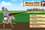 Henry VIII - Heads and Hearts game free online
