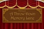 Disney A Throw Down Memory Lane game free online