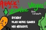 Attack Of The Zombie Vegies game free online