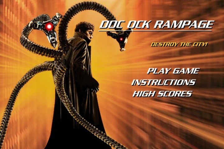 Spiderman - Dr. Octopus Rampage Game