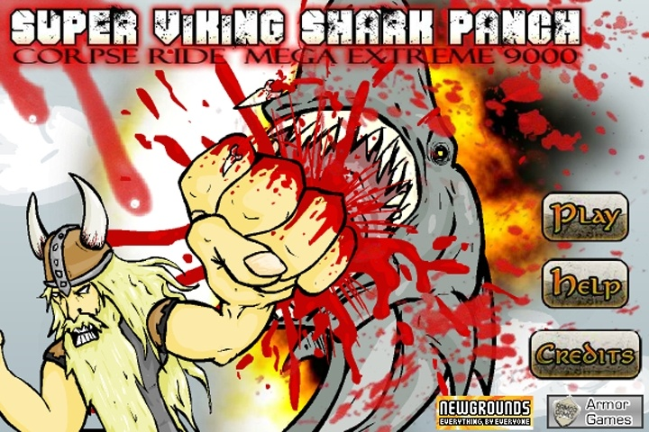 Super Viking Shark Punch Game