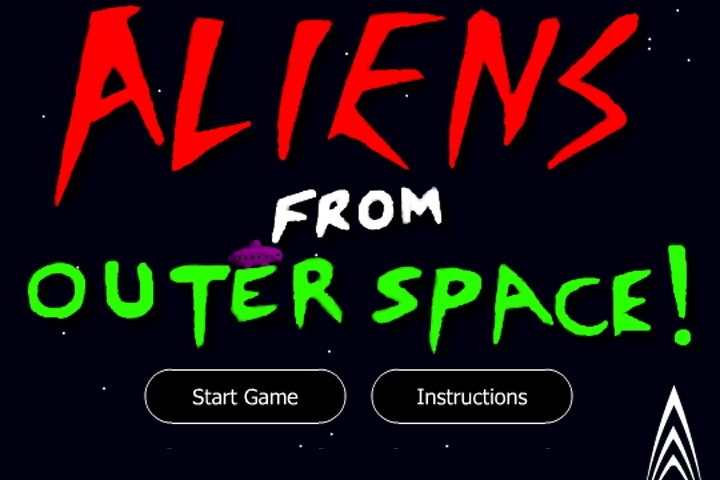 Aliens From Outer Space Game