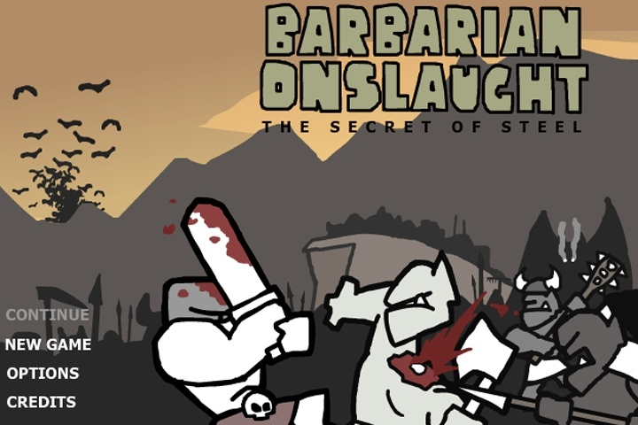 Barbarian Onslaught - The Secret of Steel Demo Game