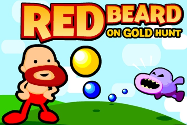 Red Beard On Gold hunt Game