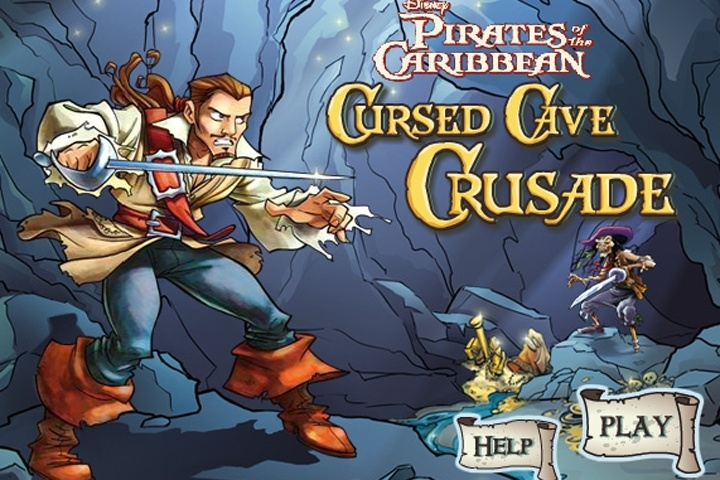 Pirates of the Caribbean Cursed Cave Crusade Game