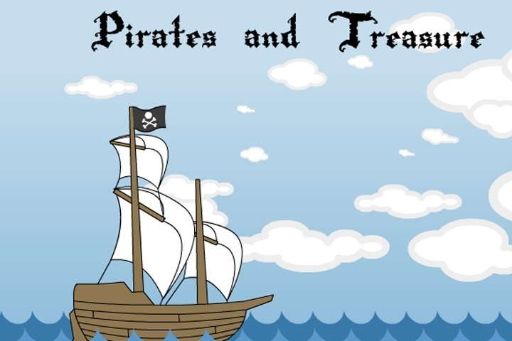 Pirates and Treasure Game