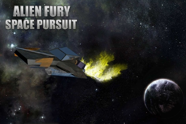 Alien Fury Space Pursuit Game