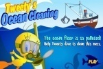 Tweety's Ocean Cleaning game free online