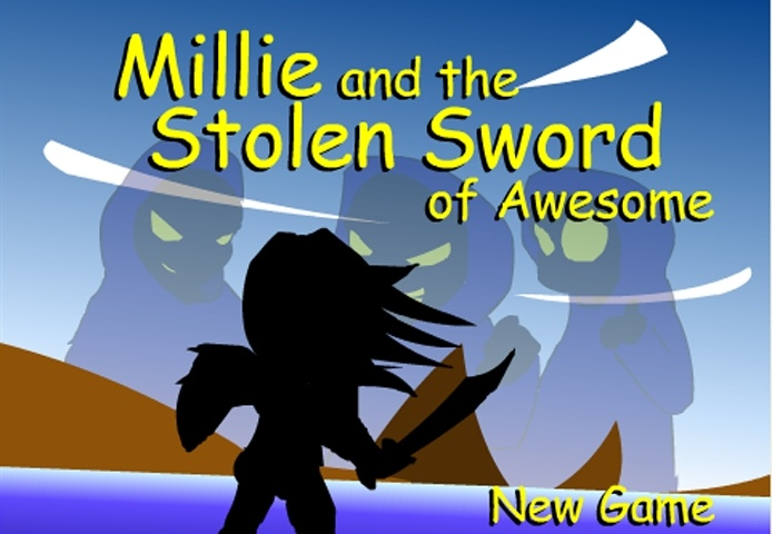 Millie And The Stolen Sword Of Awesome Game