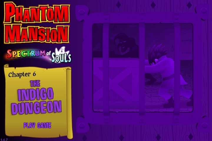 Phantom Mansion 6 - The Indigo Dungeon Game
