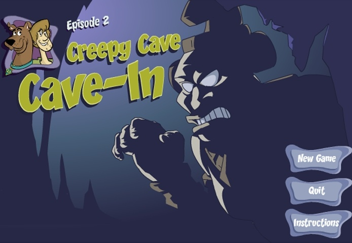 Scooby Doo - Episode 2 - Creepy Cave-In Game