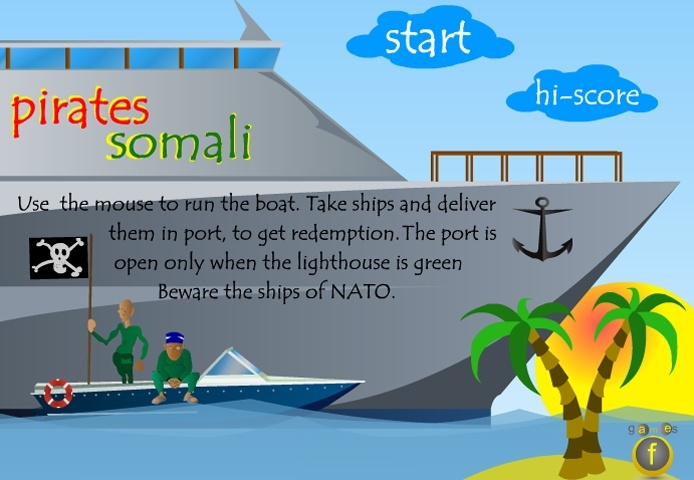 Somali Pirates Game