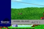 Sonic Angel Island game free online
