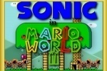 Sonic in Mario World 2 game free online