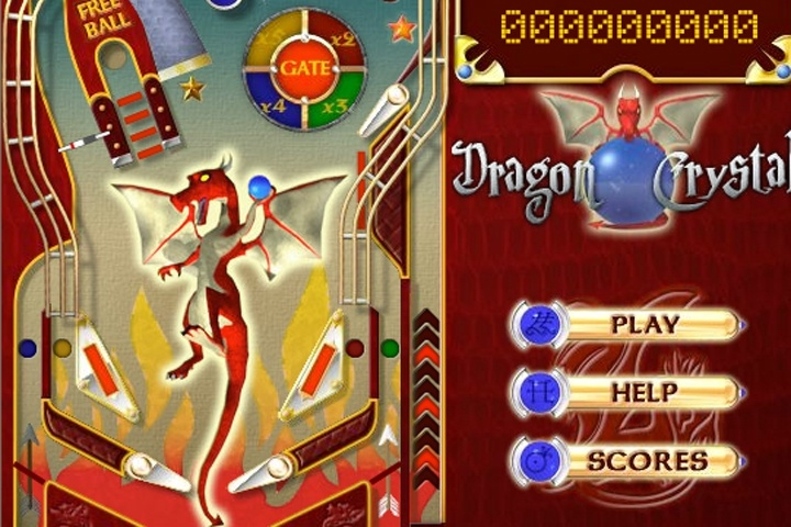 Dragon Crystal Pinball Game
