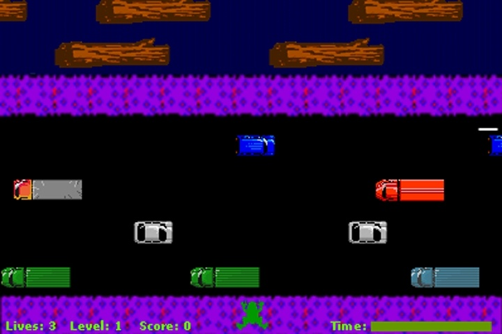 Frogger Redux Game