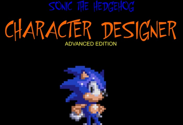 Sonic Character Designer Game