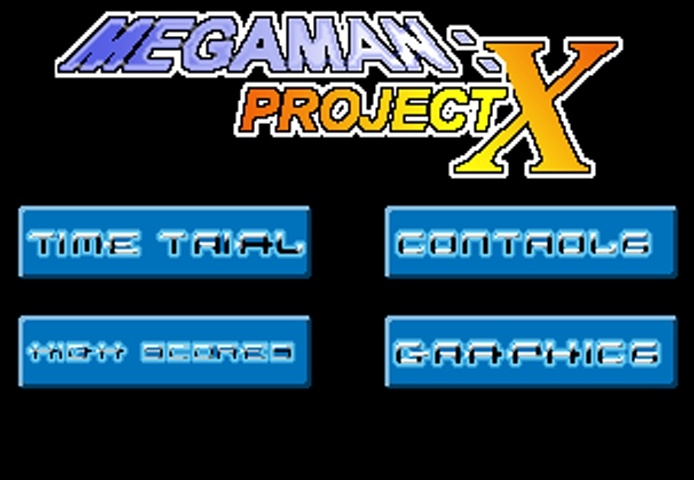 Megaman Project X  Time Trial Game