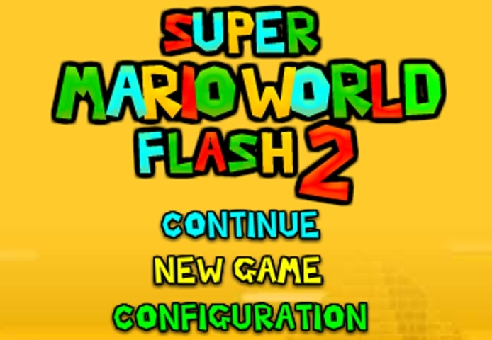 Super Mario World Flash 2 Game
