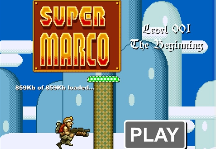 Super Marco Game