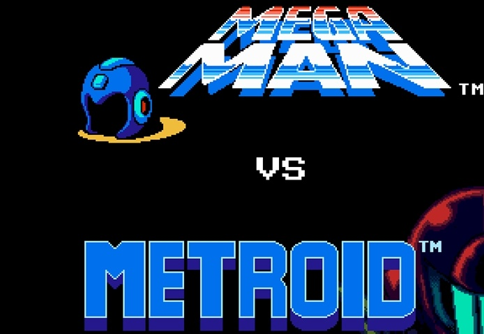 Megaman vs Metroid Game