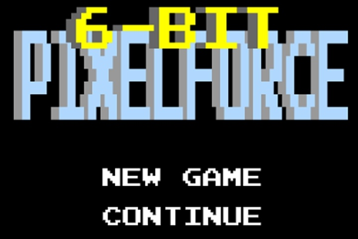 6-bit Pixelforce Game