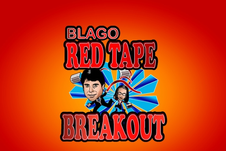 Blago Red Tape Breakout Game