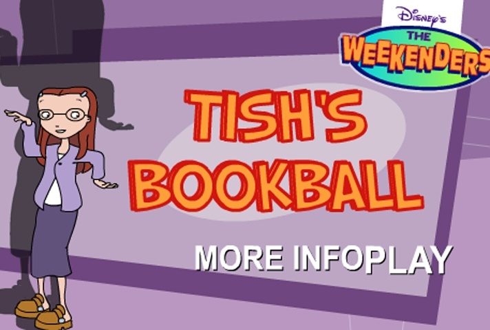 The Weekenders Tish's Bookball Game