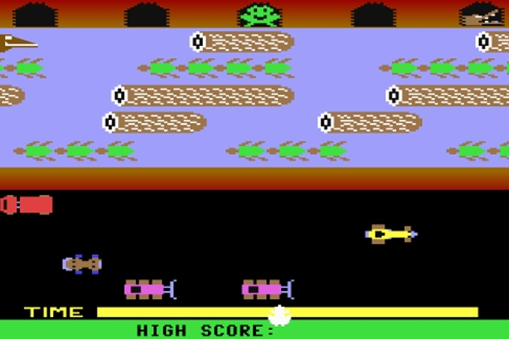 Classic Frogger Game
