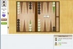 Live Challenge Backgammon game free online