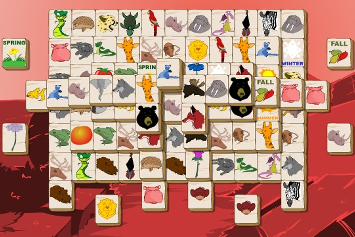 Animal Mahjong Solitaire Game