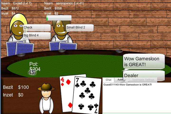 Mugalon Multiplayer Poker - Texas Hold Em Game