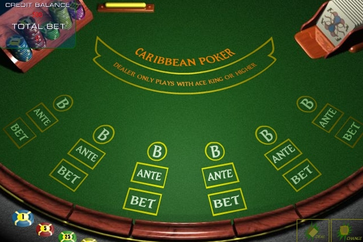 Caribbean Stud Poker Game