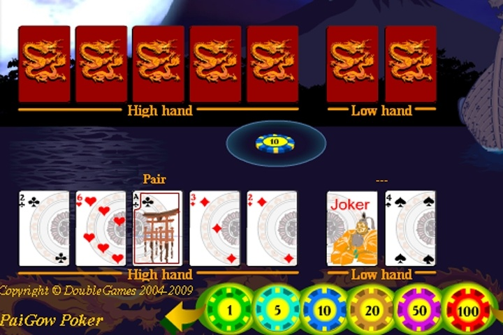 Emperors Challenge Pai Gow Poker - Play for Free Online