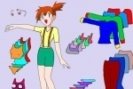 Pokemon Misty Dress Up