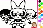 Powerpuff Girls Coloring game free online