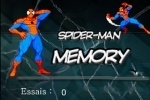 Spiderman Memory game free online