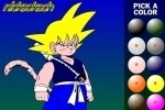 Dragon Ball Z Painting game free online
