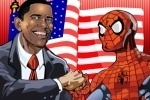 Sort My Tiles Obama and Spiderman game free online