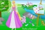 Barbie As Rapunzel Dress Up game free online