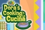 Dora The Eplorer Dora's Cooking in La Cucina game free online