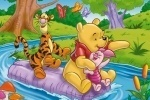 Winnie the Pooh Adventure Jigsaw Puzzle game free online
