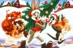 Bugs Bunny Christmas Jigsaw Puzzle game free online