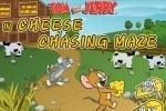Tom And Jerry Cheese Chasing Maze game free online