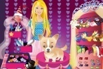 Barbie And Her Cute Dog Dress Up