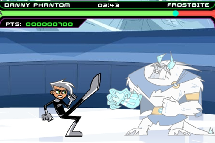 Danny Phantom Urban Jungle Rumble Game