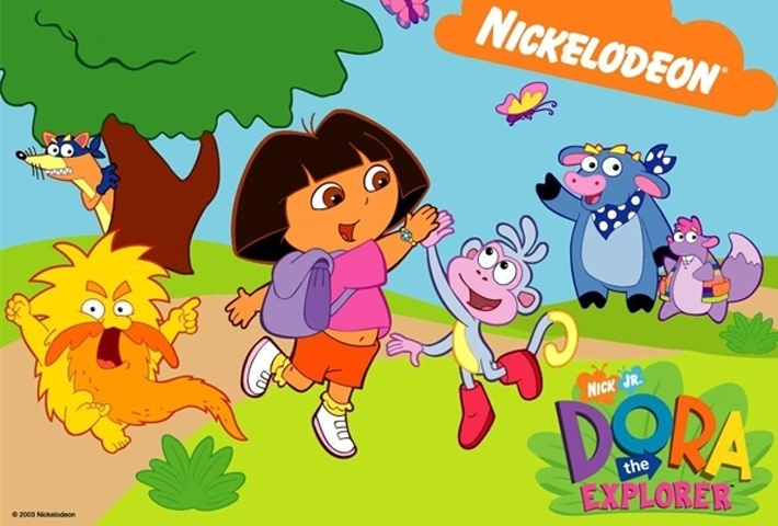 Dora The Explorer Coloring Book Game