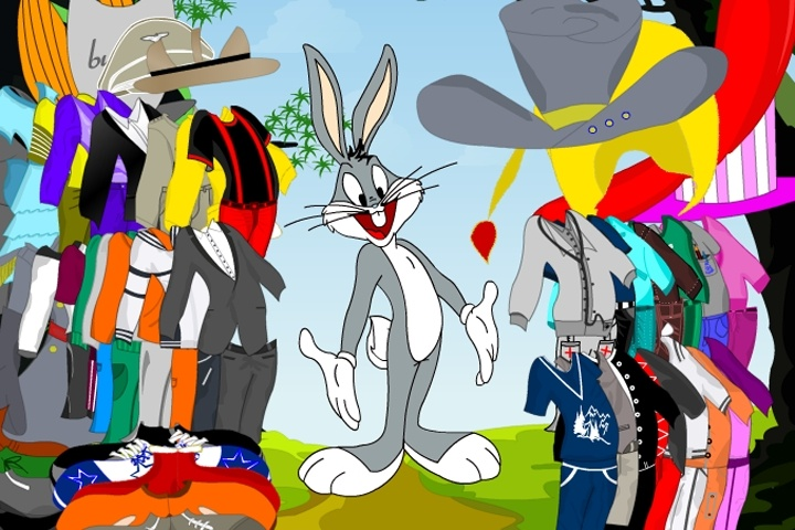 Bugs Bunny Dress Up 2 Game